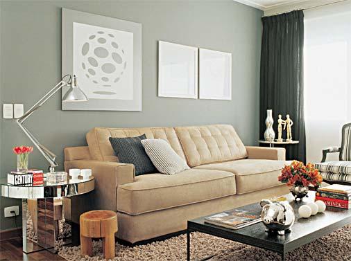 Decoração da sala de estar 9