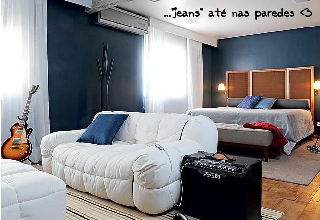 Jeans na decoração 3