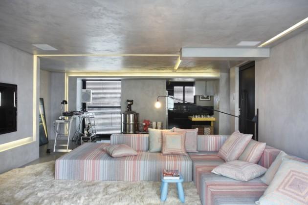 Apartamento masculino decorado 9
