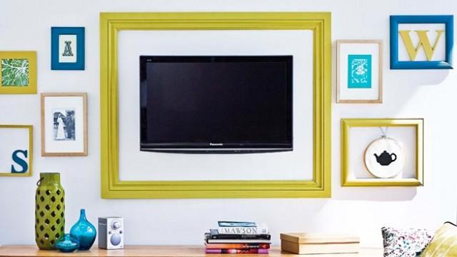 TV na decoração 4