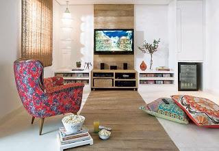 TV na decoração 5