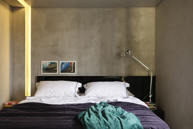Apartamento masculino decorado 7