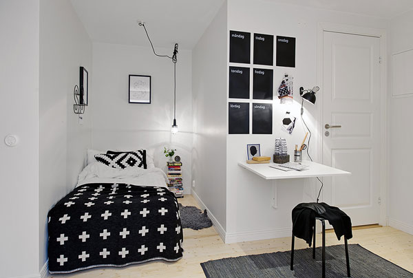 organização para quartos pequenos 8