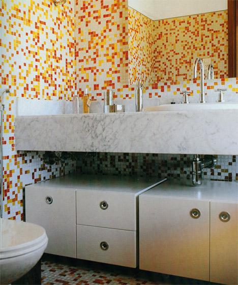 Banheiro amarelo 12