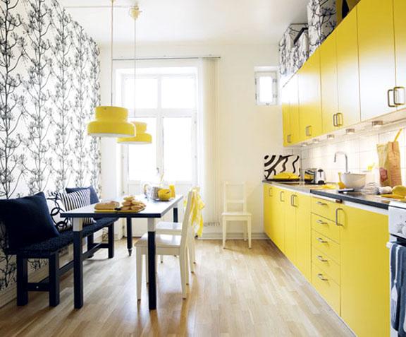 amarelo na decoração 9