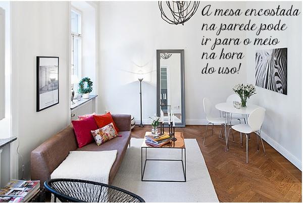 Decoração de apartamento pequeno 3