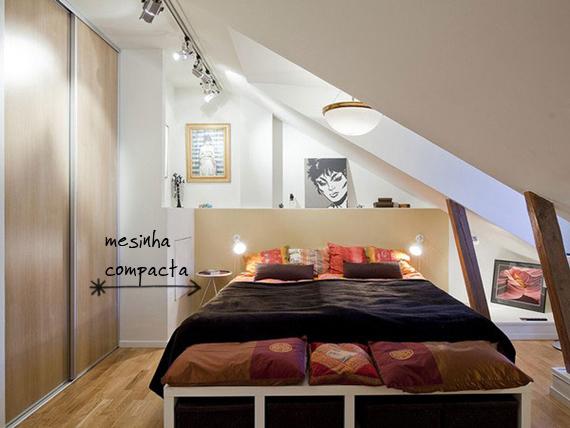 Decoração de quarto pequeno 3