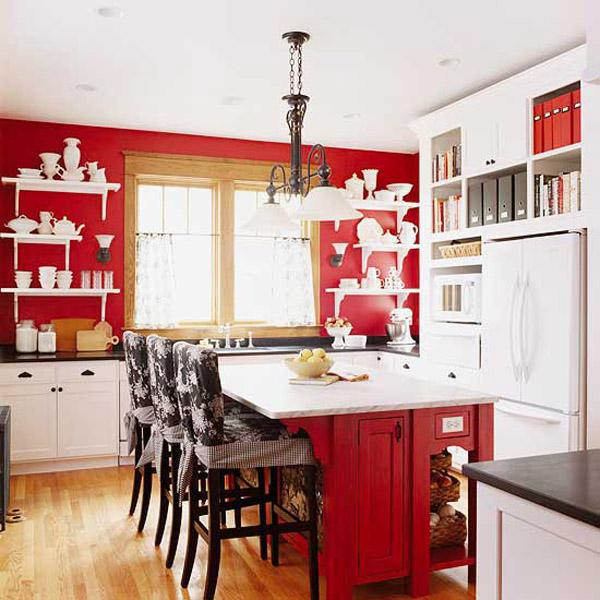 Vermelho na cozinha 4