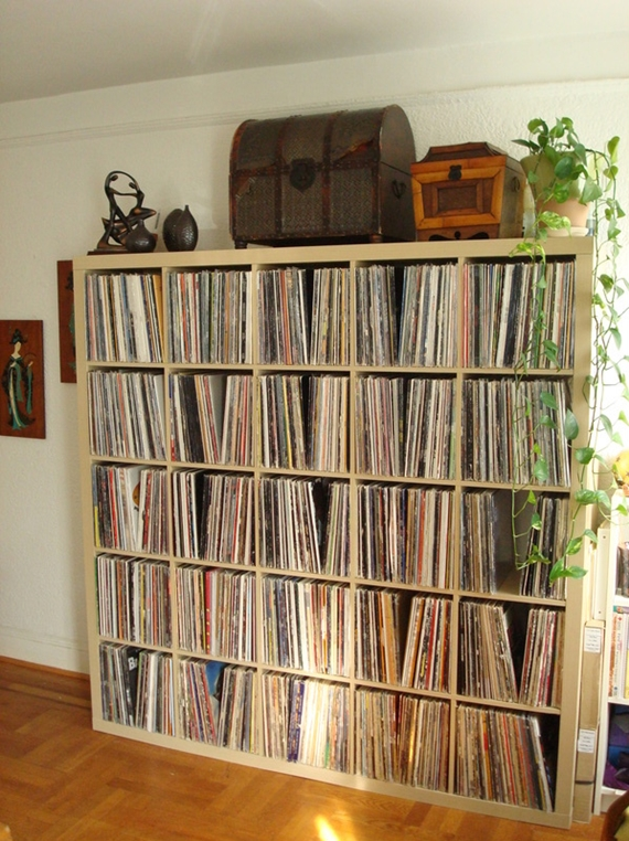 organizar os discos de vinil 4