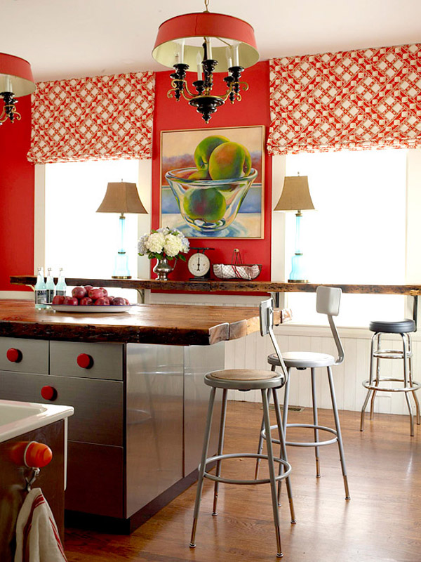 Vermelho na cozinha 5