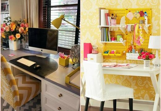 amarelo na decoração 5