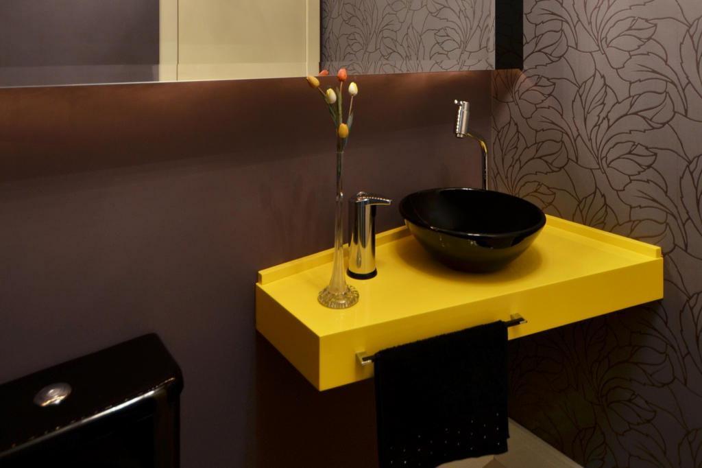 Banheiro amarelo 5