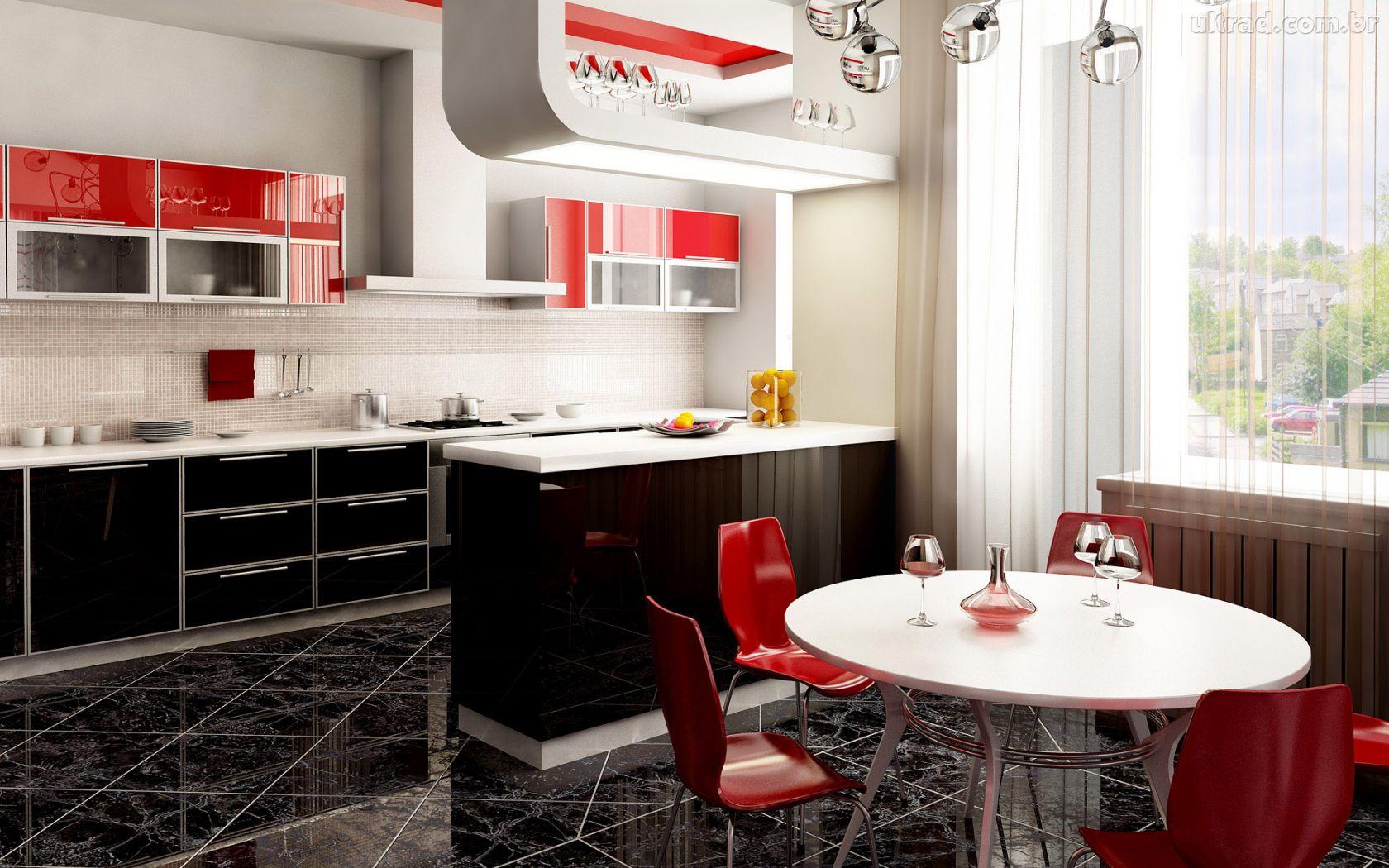 Vermelho na cozinha 6