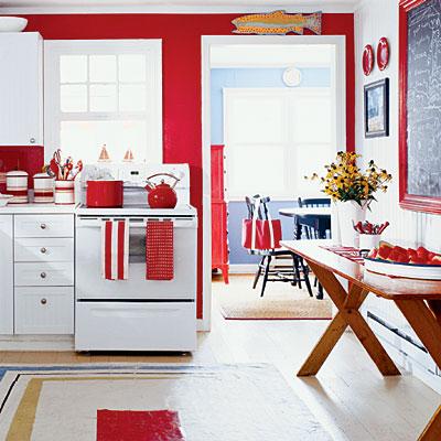 Vermelho na cozinha 7