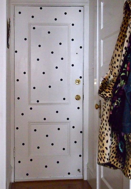 Decoração da porta 7