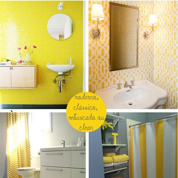 Banheiro amarelo 8