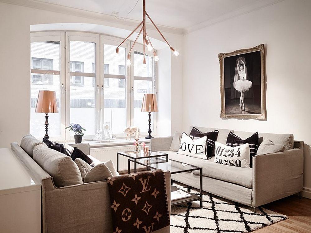 Decoração de apartamento minimalista 2