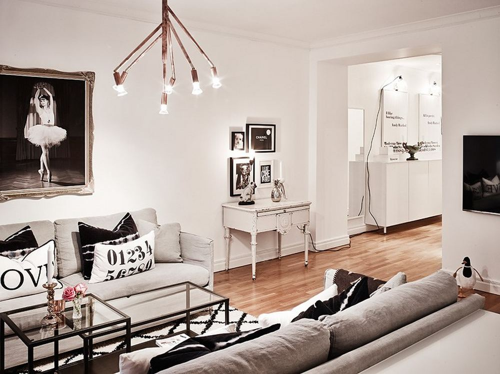 Decoração de apartamento minimalista 3