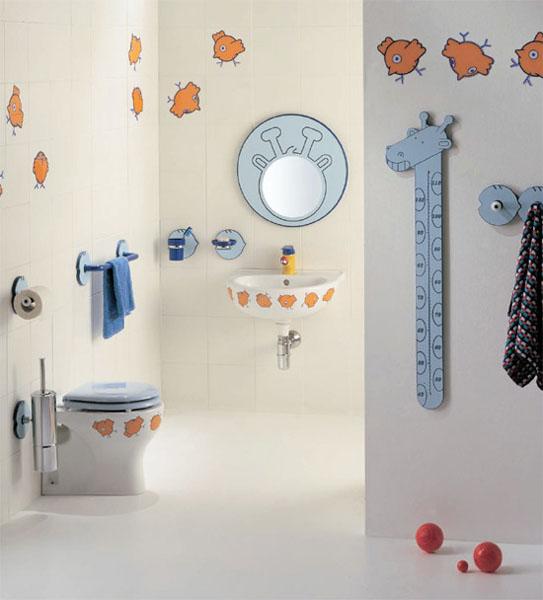 Decoração de banheiro infantil 3