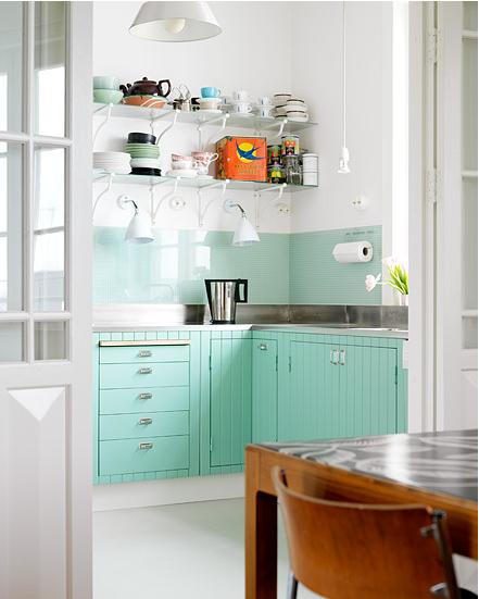 Vidro Splashback na cozinha 8