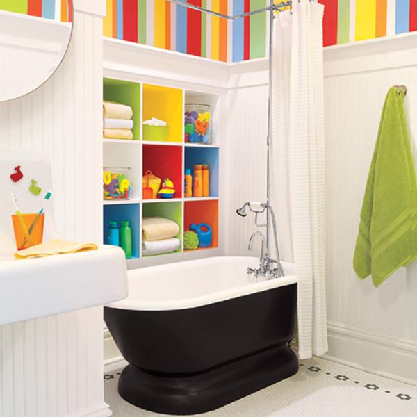 Decoração de banheiro infantil 8