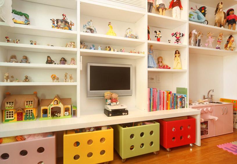 Organizar o quarto das crianças