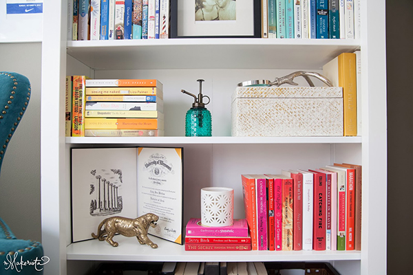 Organizar a estante de livros 2