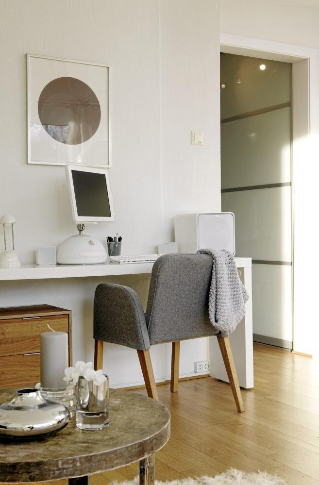 Home office na sala 4
