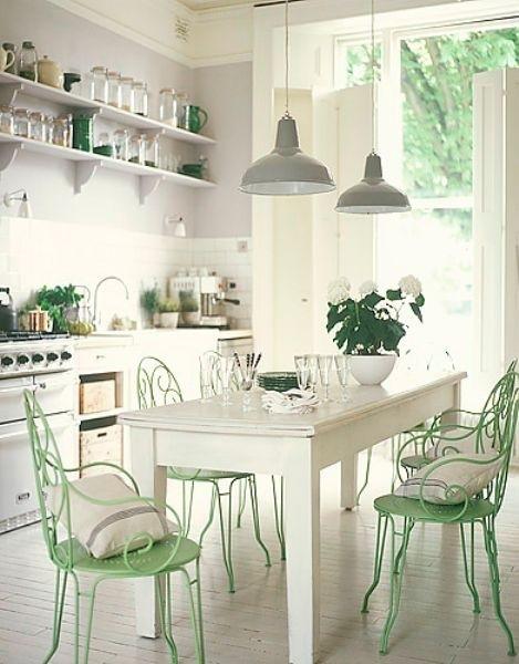 Verde menta na decoração 7