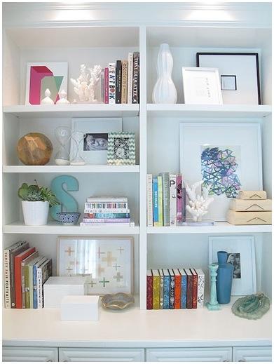 Organizar a estante de livros 7