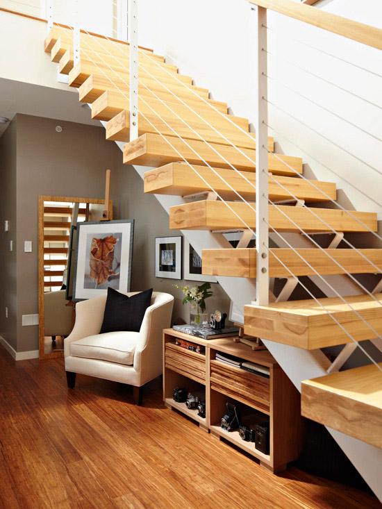 Decoração embaixo da escada 8