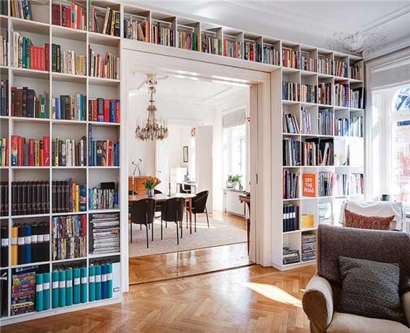 Organizar a estante de livros 9