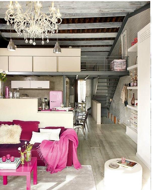Pink na decoração 1