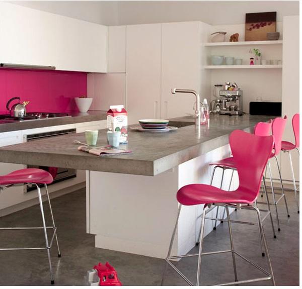 Pink na decoração 2