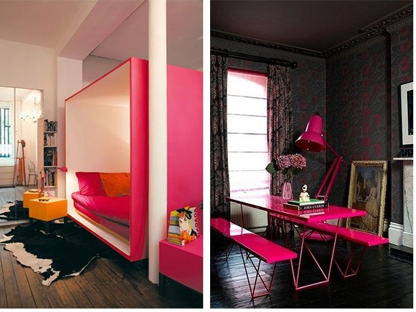 Pink na decoração 3