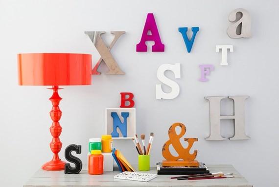 Letras decorativas 6