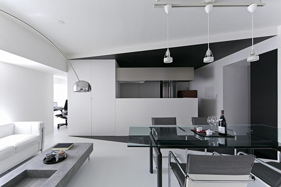 Apartamento em Preto e Branco 2