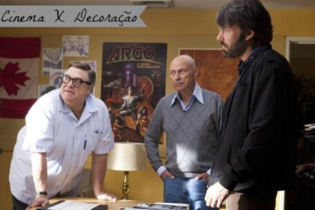 Cinema e Decoração: Argo