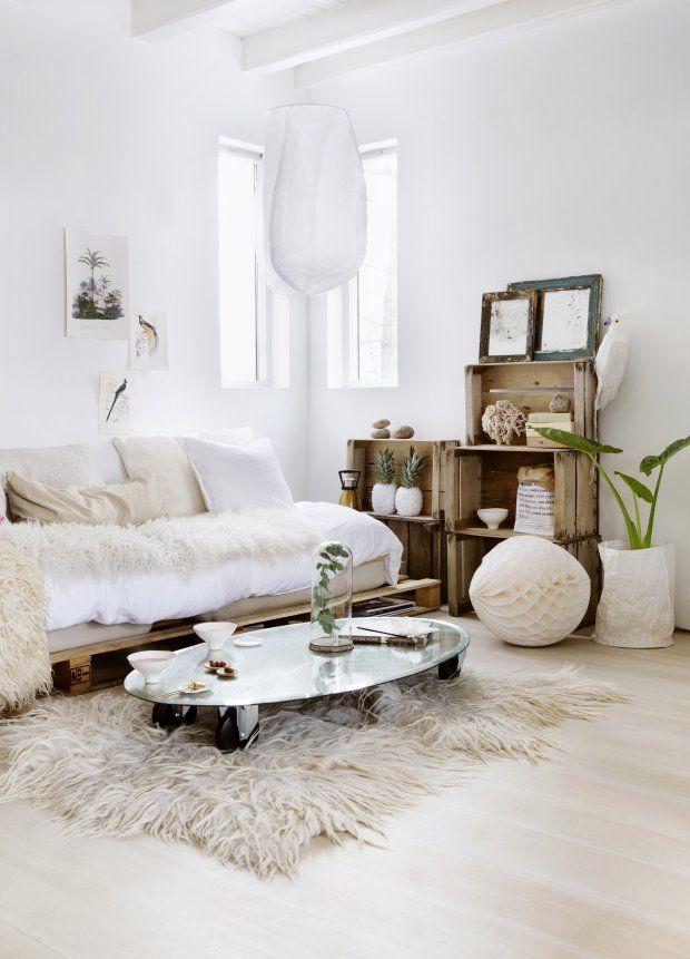 sofa de pallets