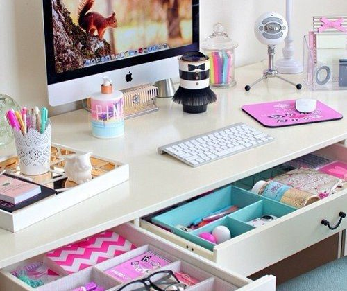 organizar o home office